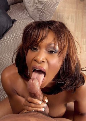 Mature cocksucker Semmie Desuora gets her black pussy invaded with hard meat
