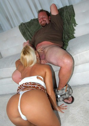 Famous busty milf butt in center of hardcore sex attention