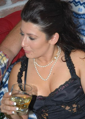 This milf loves ball licking, blowjob and hardcore sex too