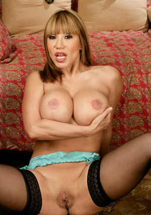 Ava Devine pushing her amazing Asian wife hooters in your face