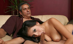 Latina wife Jenae Kae strips from underwear and gets shafted hard core