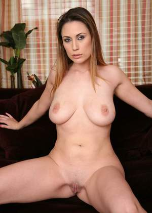 Voluptuous wife Rucca Page reveals big breasts and strips from panties