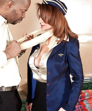 Big titted uniformed mature woman fucking 9