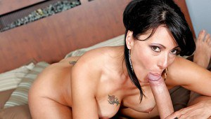 MILF wife Zoey Holloway prefers a big hard dick to her husband's
