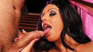 Gorgeous pornstar Kerry Louise got her pussy and tits fucked well