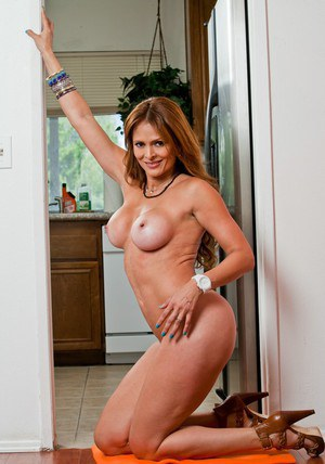 Latina mom with big breast Monique Fuentes getting downright dirty