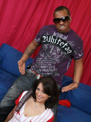 MILF babe Makali Chanel has interracial sex with a monster cock