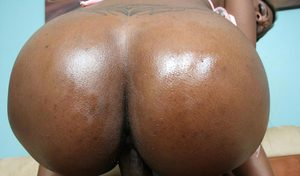Black babe with a big booty Milan Sterling sucking big cock outdoor