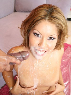 Horny MILF babe Tryme gets a monster cock deep in her pussy