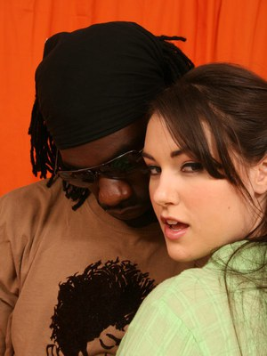 Young pornstar Sasha Grey getting banged in her tight sweet pussy