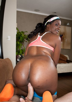 Black MILF with amazing butt fucked hardcore on the pool table