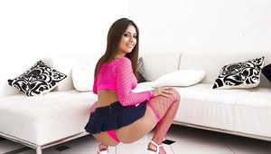 Latin Teen Shows Her Hot 25
