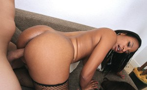 Interracial groupsex with Asian and black asses of Prycliss & Meng Lee