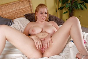 Teen Kali oozes sexuality with her big boobs & kinky shaved cunt play