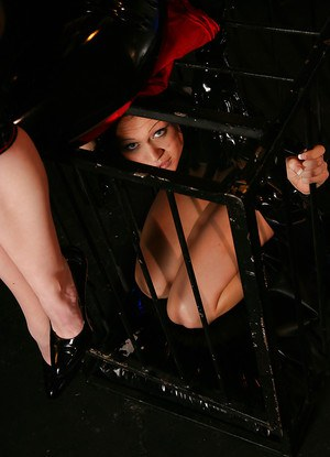 Kinky babes with big tits Krissy & Natalie are into hot femdom action