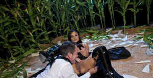 Seductive asian MILF Kaylani Lei gets her pussy licked and fucked hardcore