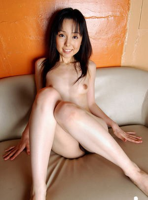 Stunning asian babe with sexy legs Yui Hasumi slipping off her clothes