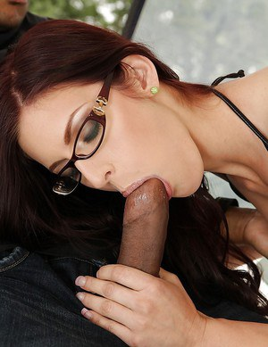 Mira Sunset gives a blowjob and takes hard black prick into her ass