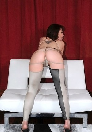 Salacious MILF with petite ass gets blowbanged and slammed hardcore