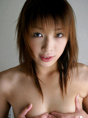 Lustful asian coed with ample ass stripping off her clothes