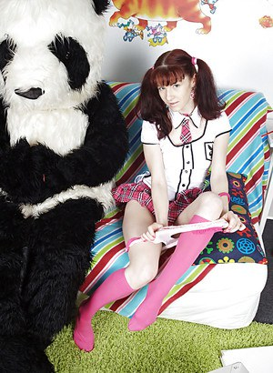 panda teen sock pic