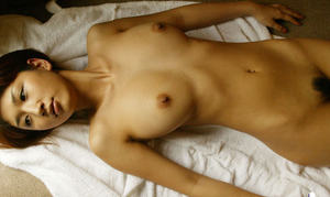 Fuckable asian cutie with petite bosoms posing naked and taking bath
