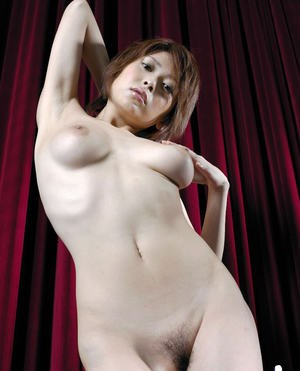 Flirtatious asian babe Nana Natsume gets rid of her clothes