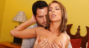Alluring Presley Hart enjoys a hardcore twatting and gets glazed with cum