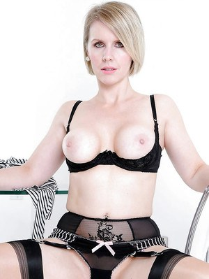 Busty milf gets her hairy pussy rammed 7