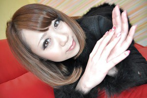 Asian cutie Mari Okuda stripping down and getting teased with sex toys