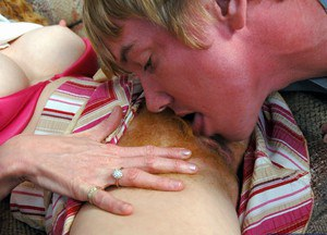 Lewd mom with hairy cunt gets anal fucked by her son's friend