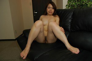 Asian cutie Miki Kagawa gets rid of her fancy dress and lingerie