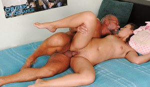 Kinky european slut has some fucking and pissing fun with an old pervert