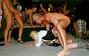 European sluts going wild and getting dirty at the wet groupsex party