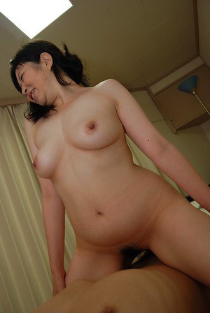 Curvy asian MILF has some pussy fingering and plugging fun