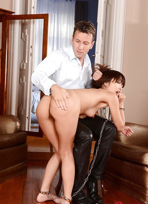 Amazing Asian BDSM princess Marica Hase gets her anus penetrated