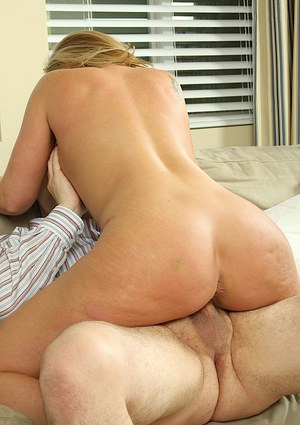 Delicious and brilliant mature fatty Lacey Love gets cumshot on boobs