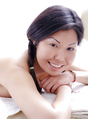 Snoutfair Asian teen with pigtails Veiki is a really good love-mate