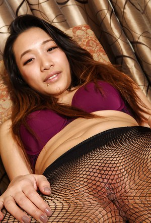 Beautiful Asian ass and hot pussy in sexy pantyhose by amateur Meiko