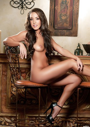 Excellent babe Tiana Nicole with perfect body takes off her clothes