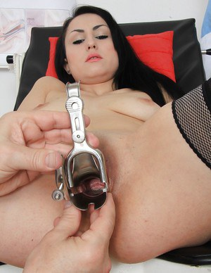 Amazing beauty Greta is making her local doctor horny as hell