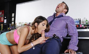 August Ames is drilling tight cunt of his wonderful wife