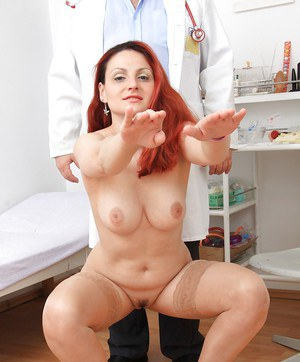 Cute Beatrix loves to have a fingering action with fetish doctor