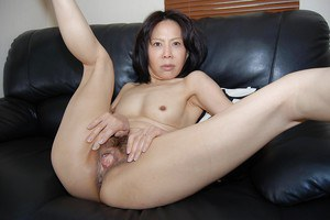 Amazing asian milf Miki undressing her body and pantyhose