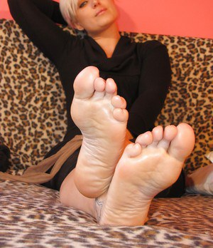 Awesome sexy love in silky smooth pantyhose Marlene is so adorable