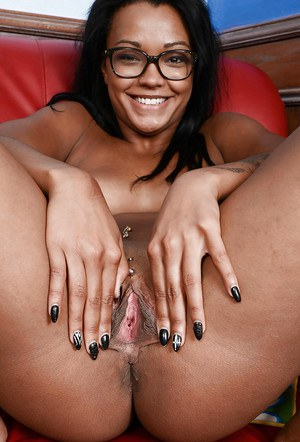 Ebony chick Harley Dean wants to show you her passion and desires