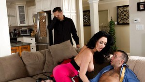 Hardcore pussy lick with an marvelous milf wife Jayden Jaymes