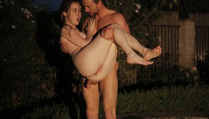 BDSM amateur fuck with an marvelous teen with long legs Mattie Borders