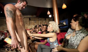 Non nude party with ebony sluts and white chicks doing blowjobs