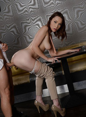 European chick with a sexy shaved pussy Macy gets fucked hardcore